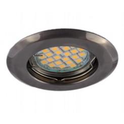 Podhledové bodové svítidlo ALFA grafit + patice, LUX01228