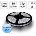 LED pásek PROFI 60ks 5730 14,4W/m, STUDENÁ, cena za 1m