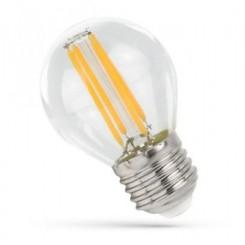 LED žárovka 4W 4xCOG Filament E27 500lm CCD TEPLÁ BÍLÁ