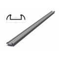 Hliníkový profil BRG-2 1m pro LED pásky, stříbrný eloxovaný