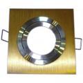 Podhledové bodové svítidlo EPSILON-K ALU zlatá + patice, MAJ0629