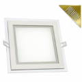 LED panel FIALE vestavný 12W 600lm 160x160mm 230V CCD TEPLÁ