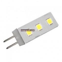 LED žárovka 0.5W 3xSMD G4 50lm STUDENÁ BÍLÁ,
