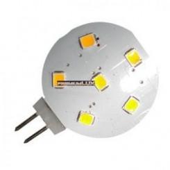 LED žárovka 1W 6x2835 G4 100lm TEPLÁ BÍLÁ