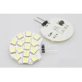 LED žárovka 3W 15xSMD5050 G4 250lm 12V DC STUDENÁ