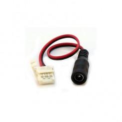 Konektor napájecí pro LED pásky 2,1/5,5 pásek 10mm