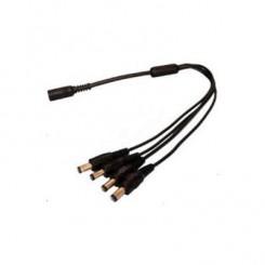 Konektor rozbočovací napájecí 1/4, DC 2,1/5,5mm