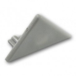 Krytka koncová pro profil TRIO, šedá