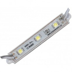 LED Modul 3xSMD 5050 0,72W 60lm 12V, STUDENÁ BÍLÁ