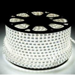 LED pásek 230V 1m 60ks 2835 6W/m silikon STUDENÁ BÍLÁ