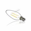 LED žárovka 2W COB Filament E14 240lm TEPLÁ