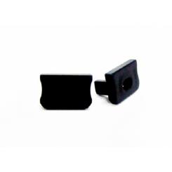Krytka koncová pro profil LUMINES X, černá