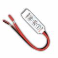 MINI RGB kontroler pro LED pásky 72W 3 tlačítka