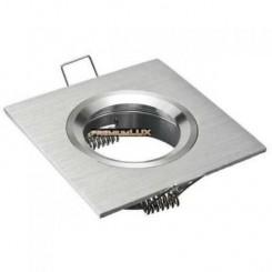 Podhledové bodové svítidlo SAFÍR stříbrný + patice, LUX01249