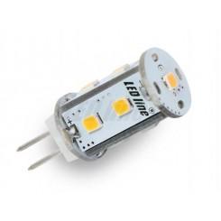 LED žárovka 1,8W 9xSMD G4 150lm corn STUDENÁ BÍLÁ