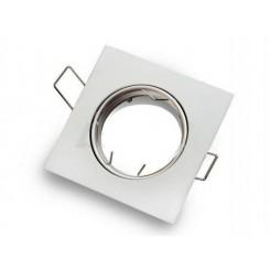 Podhledové bodové svítidlo ONYX bílá + patice, LUX01281