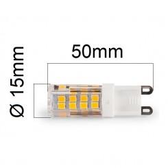 Akce: LED žárovka G9 4W 350lm teplá 3+1