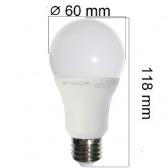 Akce: LED  žárovka E27 12W 960lm teplá 3+1