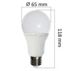 LED  žárovka E27 9W 806lm, studená, ekvivalent 60W