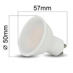 Akce: LED žárovka GU10 3W 210lm teplá 3+1
