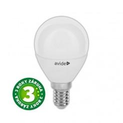 Akce: Prémiová LED žárovka E14 6W 580lm G45, studená, 3 roky 3+1