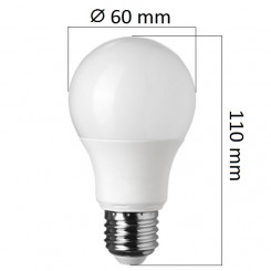 Akce: LED  žárovka E27 7W 560lm, denní  3+1