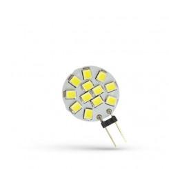 LED žárovka G4 1,2W 160lm 12V, studená, ekvivalent 15W