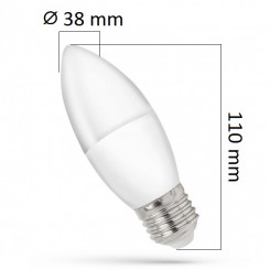 Akce: LED žárovka E27 8W 620lm teplá 3+1