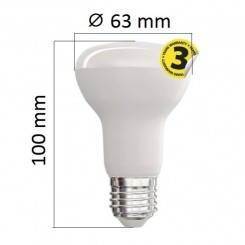 Akce: LED žárovka E27 10W 806lm R63 denní 3+1