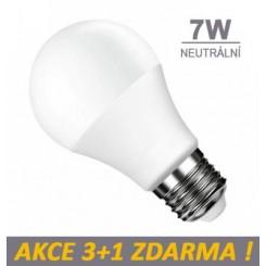 LED žárovka 7W SMD2835 560lm E27 CCD NEUTRÁLNÍ