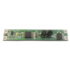 Bezdotykový spínač pro LED pásky, montáž ALU profil